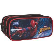 Estojo Escolar Triplo Spider-Man 148903-Tilibra -