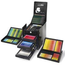 Estojo Faber-Castell Edição Limitada KARLBOX com 350 Instrumentos Artísticos - Faber Castell