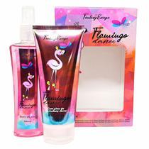 Estojo Flamingo Perfume + Emulsão - Delikad