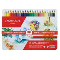 Estojo Lápis Aquarelável Caran dAche Supracolor 30 Cores Edição Limitada - Caran Dache