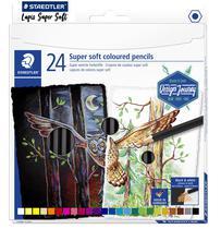 Estojo Lápis De Cor Staedtler Super Soft 24 Cores -