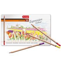 Estojo Metálico de Lápis de Cor Expression Colour Bruynzeel 36 Cores - 7705M36 -