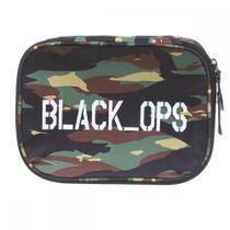Estojo Soft Luxo Black Ops - Dmw