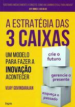 Estrategia das 3 caixas, a - Hsm editora  alta books