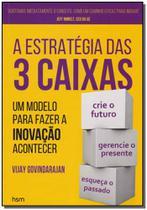 Estratégia das 3 Caixas, A - Hsm editora -