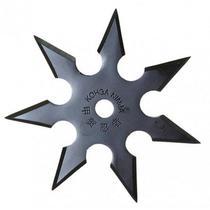 Estrela Shuriken de Arremesso Ninja em Aço 7 Pontas Taue -