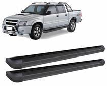 Estribo G2 Alumínio Preto S10 CD 1998 a 2011- Bepo -