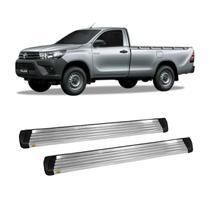 Estribo Hilux 2005 a 2015 Cabine Simples Alumínio - Track