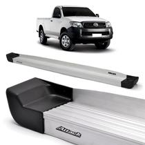 Estribo Lateral Attack Prime Natural Hilux Cabine Simples 05/15 -