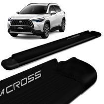 Estribo Lateral Corolla Cross 2021 2022 Alumínio Preto Fosco - Personal