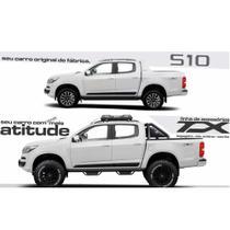 Estribo para Chevrolet S10 Cabine Dupla Preto - Ano 2012 até 2019 (Em aço Carbono) - Gama
