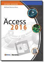 Estudo dirigido de microsoft access 2016 - erica - Editora erica ltda