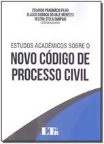 Estudos A. Sobre Novo C. Processo Civil - 01Ed/19 - Ltr Editora