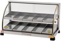 Estufa para Salgados Dupla 10 Bandejas Marchesoni Linha Ouro EF.2.211/212 -