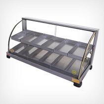 Estufa para salgados dupla 12 bandejas - EF.2.221 (110V) - Marchesoni