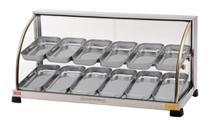 Estufa Para Salgados Ouro de 12 Bandejas Curva Dupla - Marchesoni -