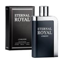 Eternal Royal eau de toilette 100ml Lonkoom Perfume Masculino Original -