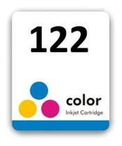 Etiqueta Cartucho Jato De Tinta 122 Colorido Pct. 45 Und - Usina de Coisas