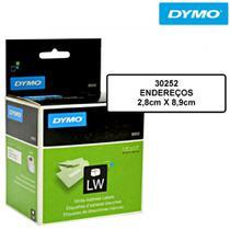 Etiqueta para Impressora Térmica 2,8x8,9cm Rolo com 350 un. 30252 Dymo -