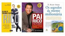 Eu Vou Te Ensinar A Ser Rico + Pai Rico Pai Pobre + Os segredos da mente milionária - Várias Editoras