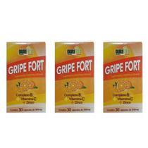 Eurofito Gripe Forte 500mg C/30 (Kit C/03) -