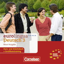 Eurolingua deutsch 3 - b1 audio cd (1-16) - Cornelsen