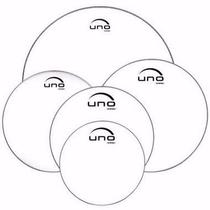 Evans Uno Kit De Pele 10,12,14,14,20 Transparente UPG2CLF20 -