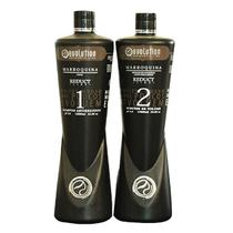 Evolution Authentic Line Escova Progressiva Marroquina Cacau 2x1000ml -