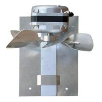 Exaustor Para Churrasqueira 20cm 55W Hélice De Alumínio ITC -