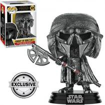 Exclusivo - Knight of Ren (Long Axe) 325 - Star Wars - Funko Pop -