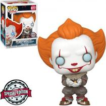 Exclusivo - Pennywise With Glow Bug 877 - IT Chapter Two - Funko Pop -