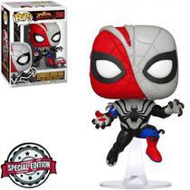 Exclusivo - Venomized Spider-Man 598 - Marvel Spider-Man Maximum Venom - Funko Pop -