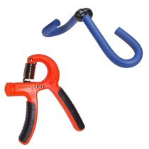 Exercitador Borboleta Tight Toner + Hand Grip com Mola Ajustável 5 a 20 kg - Liveup -