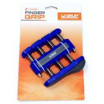 Exercitador para dedos 3 - forte - 7lbs/ 3,18kg - azul - liveup sports -