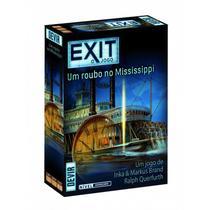 Exit Roubo no Mississipi - Jogo de Cartas - Devir -