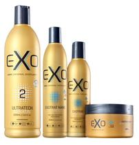 EXO HAIR  Exoplastia alisamento selante 500 ml +  KIT de manunteçao Pós Progressiva Exotrat Nano -