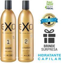 Exo Hair Kit Ultratech Exoplastia Capilar 2x 500ml (Progressiva) -