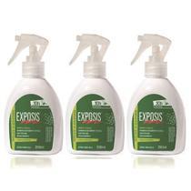 Exposis Repelente de Insetos Em Spray Gatilho 200ml - 03 un -