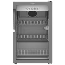Expositor/Refrigerador Vitrine Vertical Porta de Vidro VV100L 82 Litros Branco 220V - Venax -