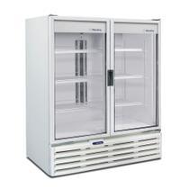 Expositor Vertical 2 Portas de Vidro 1.186 Litros Metalfrio VB99 Branco 127V -
