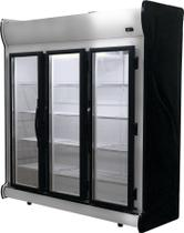 Expositor Vertical Fricon ACFM 1450 Inox 3 Portas  220 Volts -