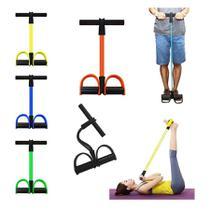 Extensor Elástico Pedal De Puxar Fitness Sit-up Musculação - Top Total