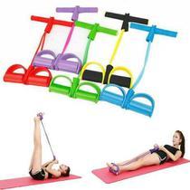 Extensor Elástico Pedal De Puxar Tensão Com Apoio Musculação Funcional Pernas Academia Ginástica Pilates - Elastico