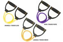 Extensor Rubber Band Prottector Tensão Leve -