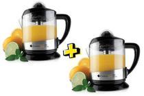Extrator Espremedor Sucos Laranja Kit 2 unidades Max Juice Cadence -