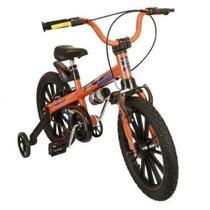 EXTREME ARO 16 Bicicleta Nathor Infantil Masculina Laranja Menino -