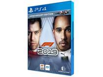 F1 2019 Anniversary Edition para PS4 - Codemasters