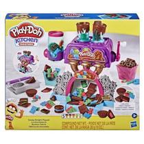 Fábrica de Chocolate Play Doh Massinha de Modelar Hasbro -
