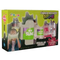 Fábrica de Clear Slimes que Brilha no Escuro 1 L - Bang Toys - Winner