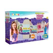 Fábrica de Fazer Areia Mágica 800g - Bang Toys - Winner